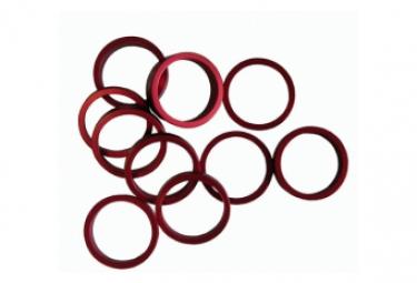 Bagues de rehausse aluminium 1P1 8 red