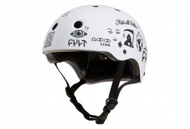Casque Bol Pro-tec X Cult Full Cut Blanc