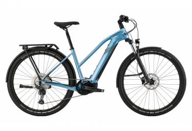 Bicicleta Híbrida Eléctrica Cannondale Tesoro Neo X 2 Remixte 29'' Bleu