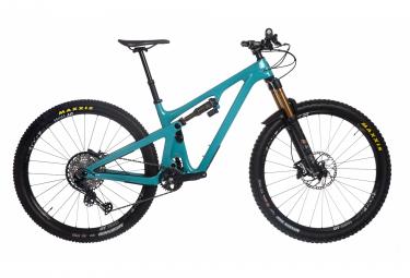 Yeti cycles sb130 factory 29   39   39  carbon shimano slx 12v bicicleta de suspension completa turquesa 2021 m   165 180 cm