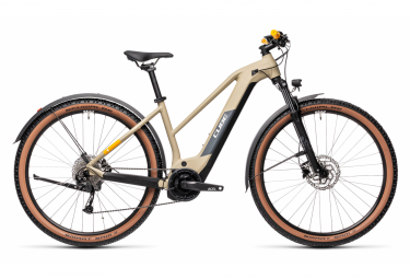 Cube Reaction Hybrid Performance 625 Allroad Trapeze Electric Hardtail MTB Shimano Alivio 9S 625 Wh 29'' Desert Beige 2021