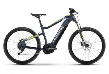 VTT Electrique Semi-rigide Haibike Sduro HardSeven 2.5 500Wh Shimano Altus 9V 27.5' Bleu 2021