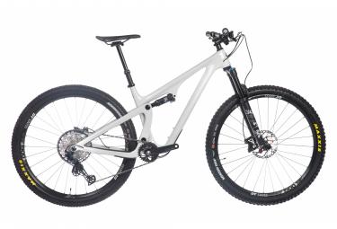 Yeti cycles sb115 bicicleta de carbono con suspension total 29   39   39  shimano slx 12v blanco 2021 l   178 191 cm