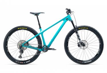 Yeti cycles arc 29   39   39  bicicleta rigida de carbono shimano slx 12v turquesa 2021 m   165 180 cm