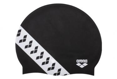 Gorro De Natacion Arena Team Stripe Negro