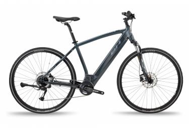 Bicicleta Híbrida Eléctrica BH Atom Cross 700 Gris