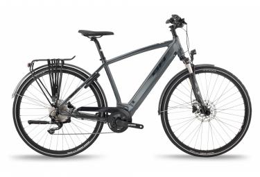 Bicicleta Híbrida Eléctrica BH Atom Cross Pro 700 Gris