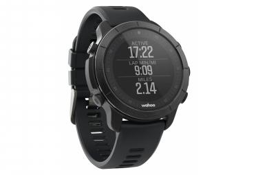 Reloj GPS multideporte Wahoo ELEMNT Rival Stealth gris