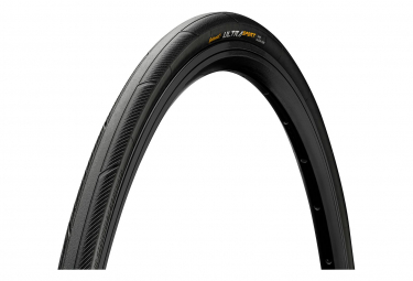 Pneu Route Continental Ultra Sport III 700 mm Tubetype Souple PureGrip Compound E-Bike e25 Noir