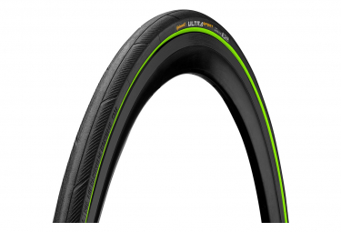 Continental Ultra Sport III 700 mm Road Tire Tubetype Foldable PureGrip Compound E-Bike e25 Black / Green