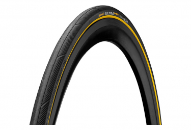Continental Ultra Sport III 700 mm Road Tire Tubetype Foldable PureGrip Compound E-Bike e25 Black / Yellow