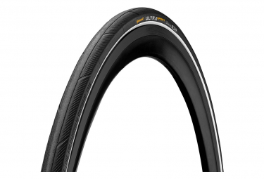 Pneu Route Continental Ultra Sport III 700 mm Tubetype Souple PureGrip Compound E-Bike e25 Noir / Blanc