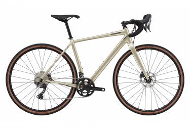 Gravel Bike Cannondale Topstone 0 Shimano GRX 11V 700 mm Beige Champagne 2021