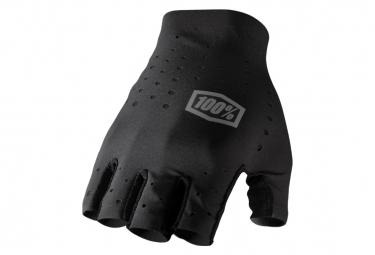 Pair of Short Gloves 100% Sling Black
