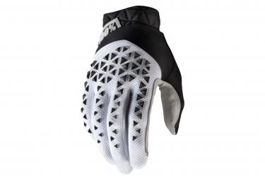 Paar 100% geomatische weiß / schwarze Handschuhe