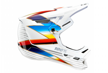 Knox 100% Aircraft Composite Integral Helm / Weiß