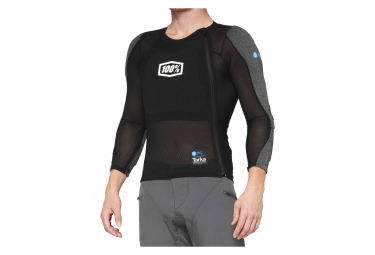 Protective Jacket Long Sleeves 100% Tarka Black MD Black