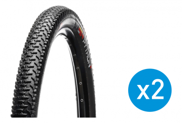 Pack of 2 Hutchinson Python 2 Tubetype Rigid Tires (with inner tube)