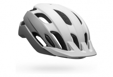 Casco Bell Trace LED Bianco / Argento 2021