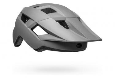 Bell Spark MIPS Helm Grau / Glänzend Mattschwarz 2021