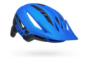 Casco Bell Sixer Mips Azul   Negro Mate 2021 M  55 59 Cm