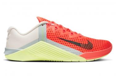 Zapatillas Nike Metcon 6 para Mujer Rosa / Naranja