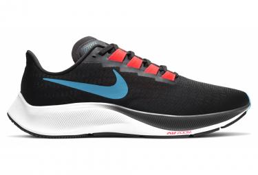 Nike Air Zoom Pegasus 37 Scarpe da corsa da uomo nere blu rosse