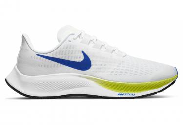 Nike Air Zoom Pegasus 37 Ekiden Weiß Gelb Blau Herren Laufschuhe