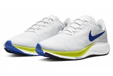 Nike Air Zoom Pegasus 37 Ekiden Bianco Giallo Blu Scarpe da corsa da uomo