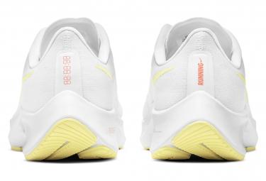 Chaussures de Running Femme Nike Air Zoom Pegasus 37 Blanc / Jaune