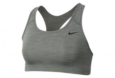 Brassière Femme Nike Swoosh Gris