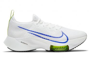 Nike Air Zoom Tempo Next Ekiden Weiß Blau Gelb Herren Laufschuhe