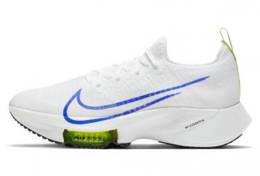 Chaussures de Running Nike Air Zoom Tempo Next% Ekiden Blanc / Bleu