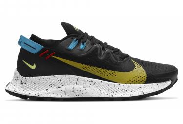 Chaussures de Trail Nike Pegasus Trail 2 Noir Jaune Bleu Homme