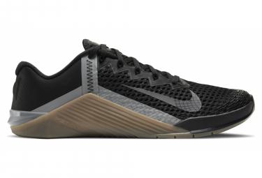 Chaussures de Cross Training Nike Metcon 6 Noir / Beige