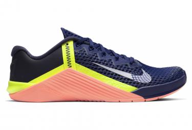 Chaussures de Cross Training Nike Metcon 6 Bleu / Orange