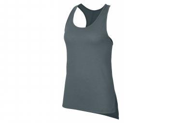 Camiseta Sin Mangas Nike Dri Fit Yoga Verde Mujer S