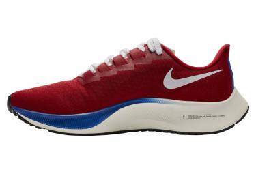 Chaussures de Running Nike Air Zoom Pegasus 37 Premium BRS Rouge / Bleu