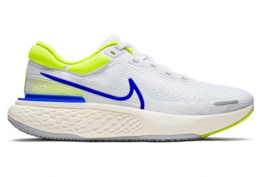 Chaussures de Running Nike ZoomX Invincible Run Flyknit Blanc / Jaune