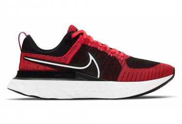 Nike React Infinity Run Flyknit 2 Zapatos Para Correr Rojo Negro Hombres 44 1 2