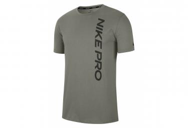 Nike Pro Training Short Sleeve Jersey Beige Hombre S