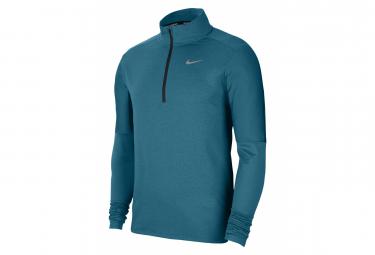 Haut 1/2 Zip Nike Dri-Fit Element Bleu Homme