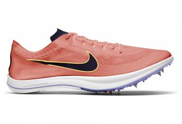 Chaussures d'Athlétisme Nike ZoomX Dragonfly Orange / Violet