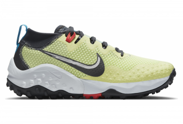 Chaussures de Trail Nike Wildhorse 7 Jaune Femme