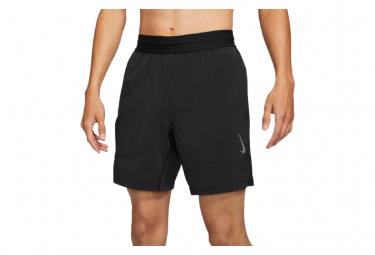 Nike Dri Fit Yoga Shorts Negro Gris Hombre S
