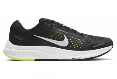 Par De Zapatillas Nike Air Zoom Structure 23 Negro   Amarillo 44 1 2