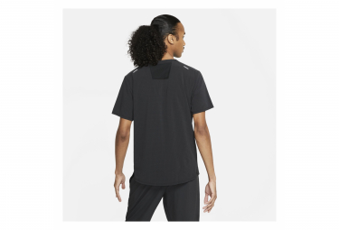 Maillot Manches Courtes Nike Dri-Fit Rise 365 Trail Noir