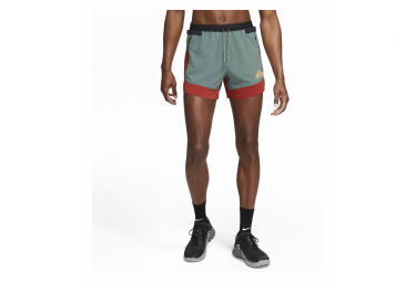 Short Nike Dri-Fit Flex Stride Trail Gris Rouge