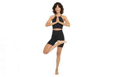 Shorts Nike Yoga Luxe 7  Negro Mujer Xxs