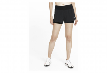 Short 2-en-1 Femme Nike Eclipse Noir